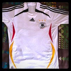 Retro 10/10 Germany Home Soccer Jersey